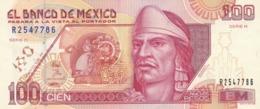 MEXIQUE BILLET DE 100 NUEVOS PESOS  DE 1992 SERIE H / ALPHABET R.2547786 - Mexico
