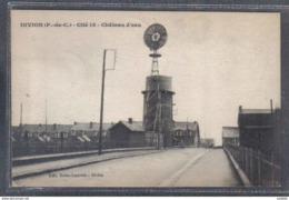 Carte Postale  62. Divion  Cité 18  Mines  Chateau D'eau  Trés Beau Plan - Sonstige Gemeinden