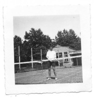 Tennis à Godinne 1950  Collège Photo 7x7 - Anonymous Persons