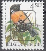 Belgique 1990 COB Préo 825 Neuf ** Cote (2016) 1.00 Euro Traquet Pâtre - Tipo 1986-..(Uccelli)