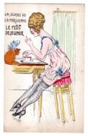 """LA JOURNEE DE LA PARISIENNE """"LE PETIT DEJEUNER"""" - Mujeres"""