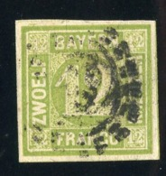 GS 1193 Bavaria 1862 Mi.#12 (o) (cat.80.€) - Bayern