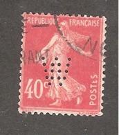 Perfin/perforé/lochung France No 194 W Weill Et Cie (6) - France