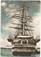 W5446 Amerigo Vespucci - Nave Scuola Della Marina Italiana - Navi Ships Bateaux / Viaggiata - Guerra