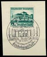 DEUTSCHES REICH 1938 Nr 673 Zentrisch Gestempelt Briefstück X8B03AA - Duitsland