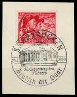 DEUTSCHES REICH 1938 Nr 685 Zentrisch Gestempelt Briefstück X8B0412 - Duitsland