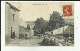 70 - Haute Saone - Leffond - Rue De La Gare - Troupeau - Animée - - France