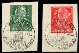 DEUTSCHES REICH 1944 Nr 894-895 Zentrisch Gestempelt Briefstück X8B525A - Duitsland