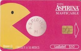 MEXICO. Aspirina Masticable, Bayer. MX-TEL-P-0683B. (205) - México