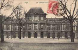 BELGIQUE , Cpa LIEGE , 87 , Le Conservatoire (11188) - Liege