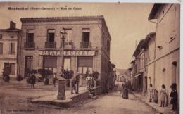 CPA  Montastruc (31) Rue De Cante   Grand Café Dufort Animation   Ed Jean Marie - Montastruc-la-Conseillère