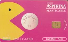 MEXICO. Aspirina Masticable, Bayer. MX-TEL-P-0683C. (204) - México