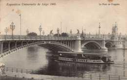 BELGIQUE , Cpa LIEGE , Exposition Universelle 1905 , Le Pont De Fragnée  (11218) - Liege