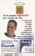 MEXICO. DURAK. Si Te Pegan Agruras Por Causa De Tus 12 ...1ª Edicion SN 0070. MX-TEL-P-0794A. (203) - México