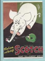 CPM Publicitaire Ruban Adhésif Scotch - Affiche De Bertrand Aldebert - Collection Fornay Exposition Mairie De Paris - Reclame