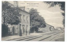 BRIVES SUR CHARENTE ( 17 - Charente Maritime ) - La Gare De Brive Chérac ( Quai Animé , Personnes ) - TTB Etat - Otros Municipios