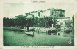 11 Aude BAGES Sortie Du Nouveau Canal à L'Est Rare - Other Municipalities