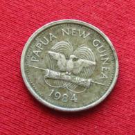 Papua New Guinea 5 Toea 1984 KM# 3 Turtle  Papuasia Nova Guine Nuova Guinea Papouasie Nouvelle Guinee Papoea - Papua-Neuguinea