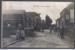 Carte Postale 59.  Genech   La Gare Et Le Passage à Niveau  Trés Beau Plan - Sonstige Gemeinden