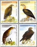 Ref. 210996 * MNH * - GEORGIA. 2007. EAGLES . AGUILAS - Pájaros