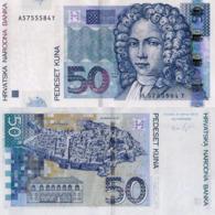 CROATIA 50 KUNA, 2012, P40B, UNC - Kroatië