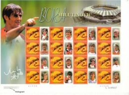 2002 China  Stamps  World Famous Football Coach Bora Milutinovic  Special Sheet(lower-left Corner Is Hologram) - 1949 - ... Repubblica Popolare