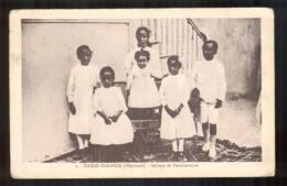 Abyssinie Éthiopie  Érythrée   DIRE DAOUA  Groupe De Pensionnaires De La Congrégation Des Oeuvres Françaises FRCR00009 P - Ethiopia