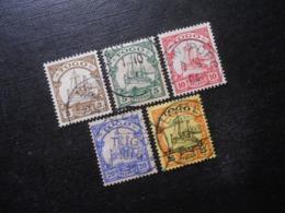 D.R.Mi 7-11 - 3/5/10/20/25Pf - Deutsche Kolonien ( TOGO ) 19001919 - Mi 19,70 € - Colony: Togo
