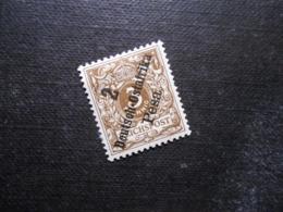 D.R.Mi 6a - 2P Auf 3Pf*MLH - Deutsche Kolonien ( Deutsch-Ostafrika ) 1896 - Mi 15,00 € - Colony: German East Africa