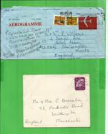 Australia And Oceania > Norfolk Island Cover & Adelaida Aerogramme ! 1975 - Isola Norfolk