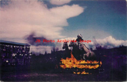 274675-Native American Indian, Performing Fire Jump, Christian's Photo Service No 692 - Native Americans