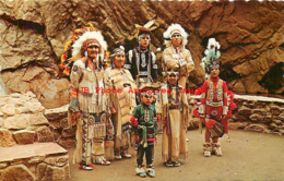 274679-Native American Indians, South Cheyenne Canyon Colorado Springs, Sanborn By Dexter Press No 20480-C - Indiaans (Noord-Amerikaans)