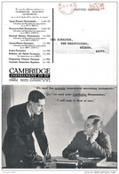 GBS18501 GB 1935 P.T.P.O. Advertising Photo Postcard Cambridge Co. - Meter Cancellation - To Egypt - Poststempel - Freistempel