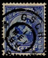 """NTH SC #41 U 1894 P Wilhelmina W/SON """"OSCH/1 MEI 99"""" CV $0.25 - Periodo 1891 – 1948 (Wilhelmina)"""