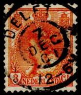 "NTH SC #61 U 1898 Q Wilhelmina W/SON ""DELFT/7 DEC 01"" CV $3.25 - Period 1891-1948 (Wilhelmina)"