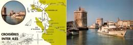 3804  10-1949    17    LA ROCHELLE CROISIERES INTER ILES - La Rochelle
