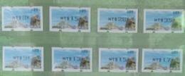 Black Imprint Set Of 2019 Formosan Serow ATM Frama Stamps  - Goat Mount Unusual - Errori Sui Francobolli