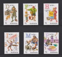 Australia 2019 Fair Dinkum Aussie Alphabet - Part Five Set Of 6 MNH - 2010-... Elizabeth II