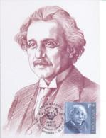 2019. Moldova,  Albert Einshein, People Who Changed The History Of The World,  Maxicard, Mint/** - Moldavie