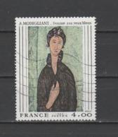"""FRANCE / 1980 / Y&T N° 2109 : """"Femme Aux Yeux Bleus"""" (Amédéo Modigliani) - Usuel - Frankreich"""