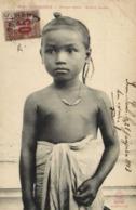 CAMBODGE Phnom Penh Enfant (buste) + Beau Timbre 15 Surchargé 05  Indochine RV - Cambodge