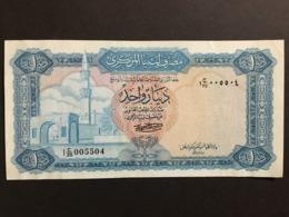 Libya 1 Dinar 1972 Pick 35b Ref 5504 - Libië