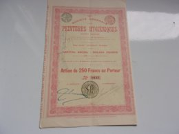 PEINTURES HYGIENIQUES (1904) - Shareholdings