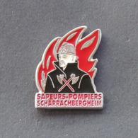 1 Pin's Sapeurs Pompiers De SCHARRACHBERHEIM (BAS RHIN - 67) - Bomberos