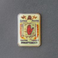 1 Pin's Sapeurs Pompiers D'ODRATZHEIM (BAS RHIN - 67) - Bomberos