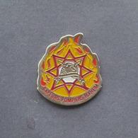 1 Pin's Sapeurs Pompiers De RIXHEIM (HAUT RHIN - 68) - Bomberos