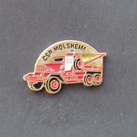 1 Pin's Sapeurs Pompiers De MOLSHEIM (BAS RHIN - 67) - Pompiers