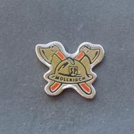 1 Pin's Sapeurs Pompiers De MOLLKIRCH (BAS RHIN - 67) - Bomberos