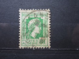 "VEND TIMBRE D ' ALGERIE N° 212 , OBLITERATION "" MOSTAGANEM "" !!! - Used Stamps"