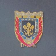 1 Pin's Sapeurs Pompiers De MARLENHEIM (BAS RHIN - 67) - Bomberos